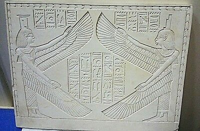 RARE ANCIENT EGYPTIAN ANTIQUE ISIS and OSIRIS Stela Egyptian Ancient Antique BC