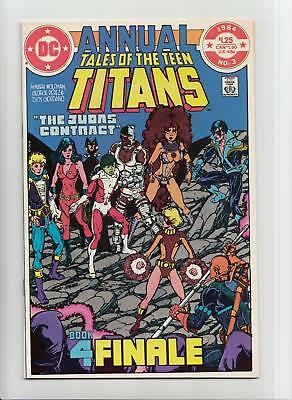 Tales of the Teen Titans Annual #3 (DC 1984) NM- 9.2