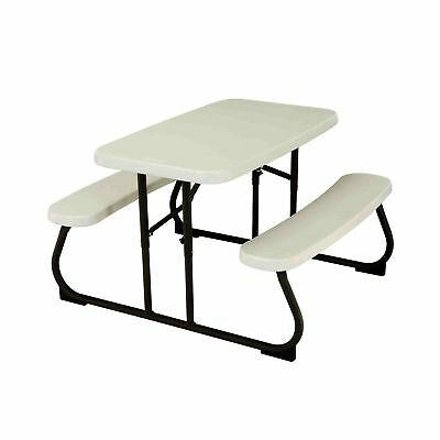 KIDS PICNIC TABLE PlayGround Supplies Park Childrens Seating Bench - Picnic table supplies