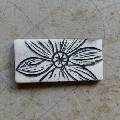 Shaped Mosaic Insert Flower Tile ~ Mosaic Inserts, Art, Craft Supplies