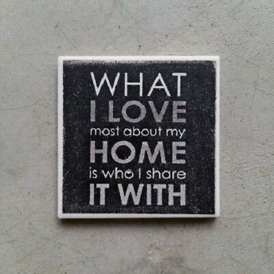Mosaic Tile Insert ~ What I love about my home is ... ~ Mosaic Inserts, Art, ...