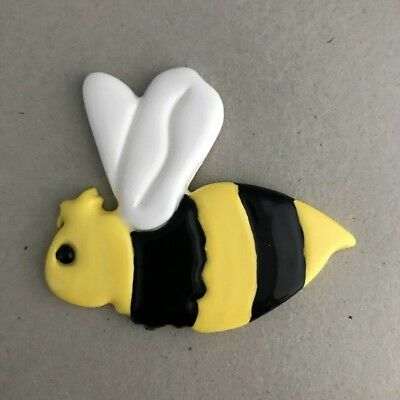 Mosaic Insert - CERAMIC BEE - 60x70mm ~ Mosaic Inserts, Art, Craft Supplies