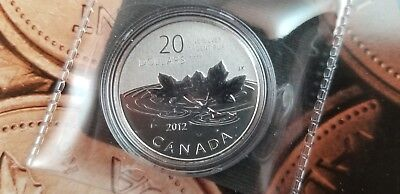 2012 .9999 Silver $20 Farewell to the Penny (Limited Mintage)