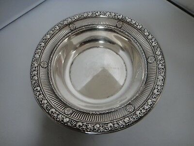 Beautiful Openwork Sterling Silver Wallace Bowl 4088-3