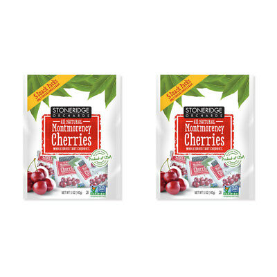2X Stoneridge Orchards Montmorency Cherries Whole Dried Fruit Gluten Free Daily