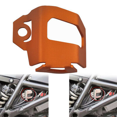 Rear Brake Fluid Oil Reservoir Guard Cover For BMW F650GS Single KTM1150 TR650