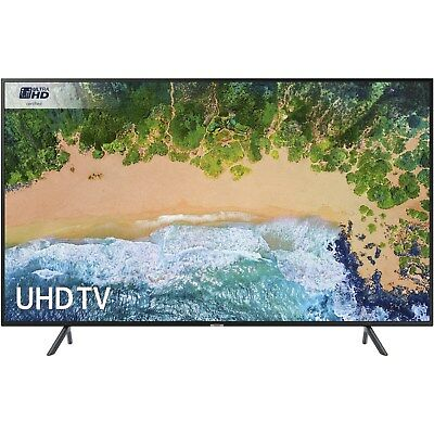 """Samsung UE49NU7100 49"""" 4K Ultra HD HDR LED Smart TV with Freeview UE49NU7100KXXU"""