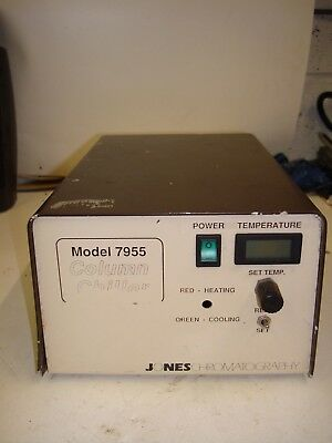 Jones Chromatography Column Chiller Model 7955 FOR PARTS NOT WORKING VEP2 USM27