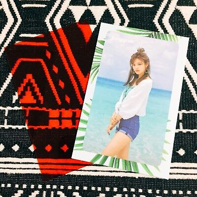 [TWICE JeongYeon] Message Photocard Official New Summer Nights 2nd Special 정연