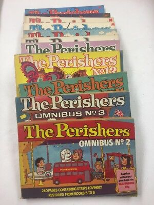 The Perishers, 13 non-consecutive copies; Maurice Dodd, drawn by Dennis Collins
