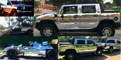 2005 Hummer H2 Chrome Chrome H2 Hummer SUT, custom mirror chrome collection 4 sale