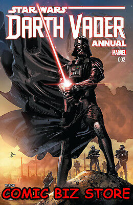 Star Wars Darth Vader Annual #2 (2018) 1St Print Bagged & Boarded Marvel ($4.99)