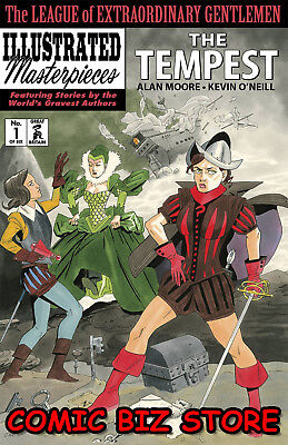 League Of Extraordinary Gentlemen Tempest #1 (2018) 1St Printing Idw