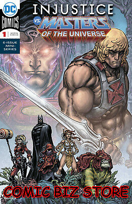 Injustice Vs Masters Of The Universe #1 (Of 6) (2018) 1St Printing Dc Comics