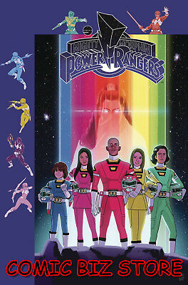 Mighty Morphin Power Rangers #29 (2018) Gibson Subscription Variant Cover B Boom