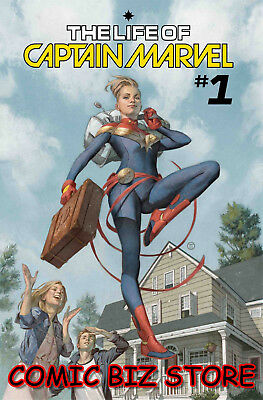 Life Of Captain Marvel #1 (Of 5) (2018) 1St Printing Main Cover Marvel Comics