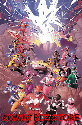 Mighty Morphin Power Rangers #29 (2018) 1St Printing Main Cover A Boom