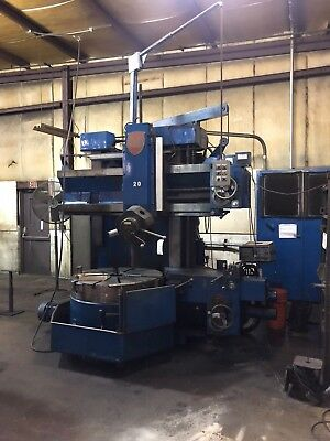 """Used 42"""" G&L Giddings & Lewis Vertical Turret Lathe / Mill Series 65"""