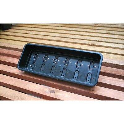 Extra Large Garden Seed Tray - Garland Narrow Black XL Plants Planting Growing