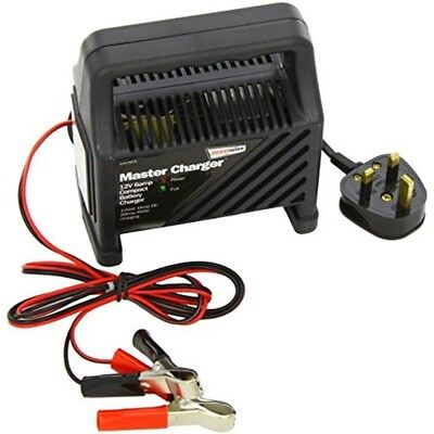 Streetwize Swcbc6 12v 6amp Compact Plastic Cased Battery Charger - Car 6 Amp