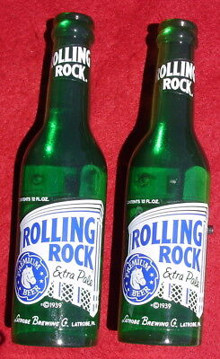 2 New Rolling Rock Beer Bottle Door Handle Nib