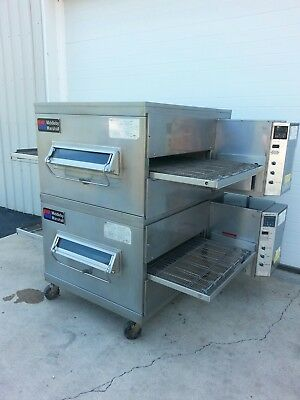Middleby Marshall PS200 Double Deck Conveyor Pizza Oven **EXCELLENT CONDITION**