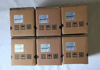 New Lot of (6) Messoa #550RB-HN1 Waterproof 550TVL CCTV IR Security Cameras