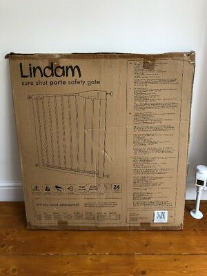 Lindam Sure Shut Porte Safety Gate New Boxed Reading inc.Extension