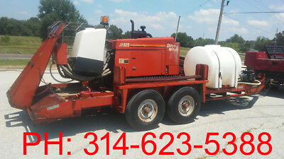 DITCH WITCH JT920 Crawler Directional Drill with trailer mud pump tank mixed...