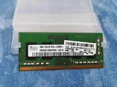 Memory RAM SO-DIMM DDR4 1.2V 2x4GB 2400MHz Hynix HMA851S6AFR6N-UH for Notebooks
