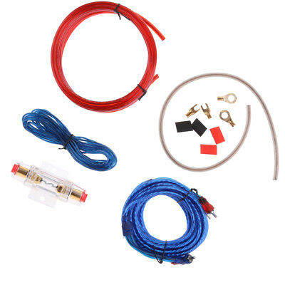8 gauge amplifier wiring kit car audio amp 8g installation install rh picclick com