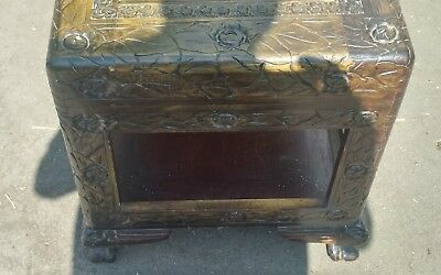Carved Camphor Wood Chest Trunk COLLECTION ONLY
