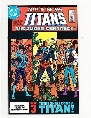 Tales Of The Teen Titans #44 1St Nightwing 1984 Wolfman Perez Modern Key Dc Book