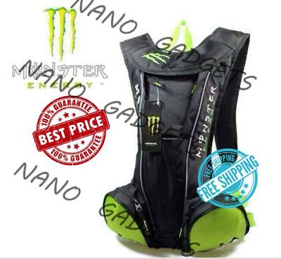 Premium Monster Hydration Motorcycle Water Bag Bike Cycling Drinking Backpack 2L