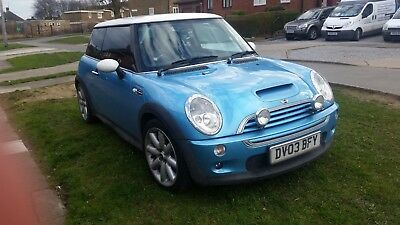2003 Mini Cooper S New Clutch fitted, New exhaust fitted. Low mileage 77k