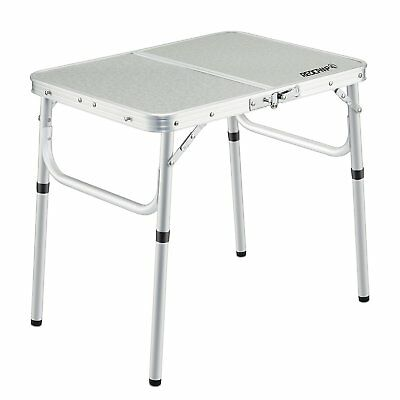 REDCAMP Small Folding Table Adjustable Height 236x157x102