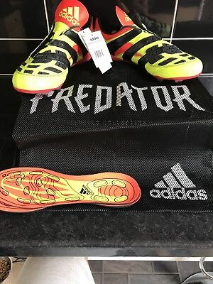 614c24c92 Adidas Predator Accelerator Solar Yellow Remake Limited Edition Size Uk 9.5