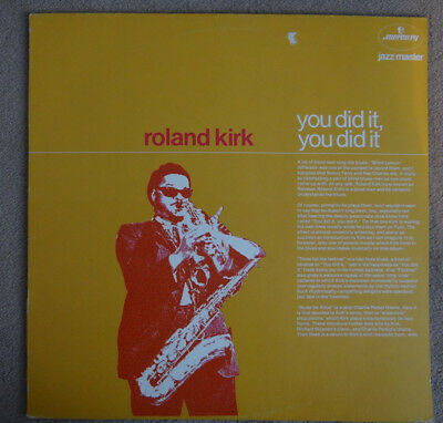 ROLAND KIRK ‎- You Did It, You Did It - MERCURY LP JAZZ MASTER STEREO 6336384