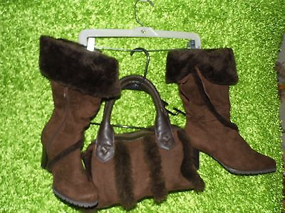 womens boots and matching handbag from avon