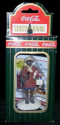 "Coca-Cola Coke Ornament Town Square Collection ""Angela"""