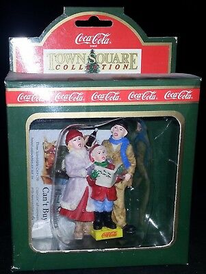 "Coca-Cola Coke Ornament Town Square Collection ""Carolers"""