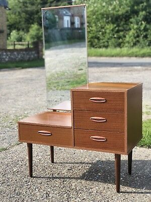 Late Mid Century Mirror Dressing Table
