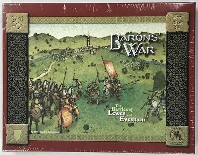 Baron's War (2004) Battles of Lewes & Evesham Clash of Arms Games New!