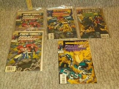 The Transformers Generation 1 and II # 6,6,7, 8, & 9