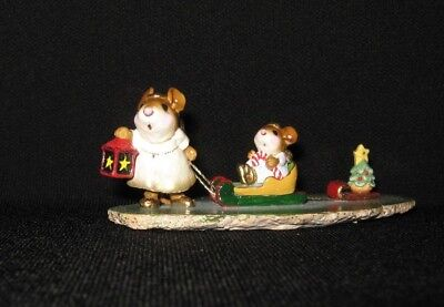 Wee Forest Folk M-262 Lighting the Way Retired Mint with box