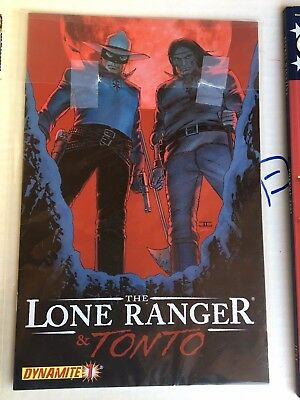 Lone Ranger And Tonto 1 Dynamite Comics Comic Book Mint