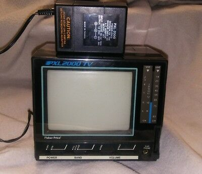 """PXL-2000 Fisher Price TV / Monitor for Video Camera 495621 4.5""""WORKS"""