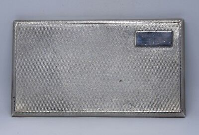 Superb Solid Silver Cigarette Case By Aspreys London 1952 210g