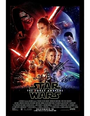 Star Wars The Force Awakens Theatrical Double-Sided DS 27x40 Movie Poster Ep VII