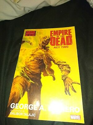 GEORGE ROMEROS EMPIRE OF THE DEAD ACT TWO GRAPHIC NOVEL Paperback (Vol 2) #1-5